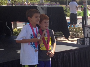Age Group Awards (Placed 2nd of 7)